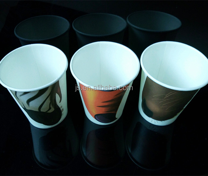 Three design animal nose cool paper cups