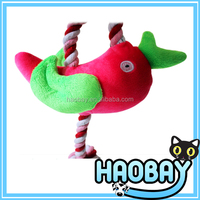 Cute design cartoon animal sex pet toy for dog, plush dog toy