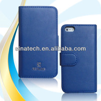 Newest wallet leather case for iphone 5 s case ,for iphone 5 s case ,hot selling !