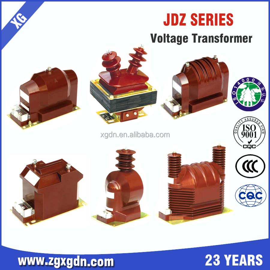Electromagnetic electronic voltage transformer design
