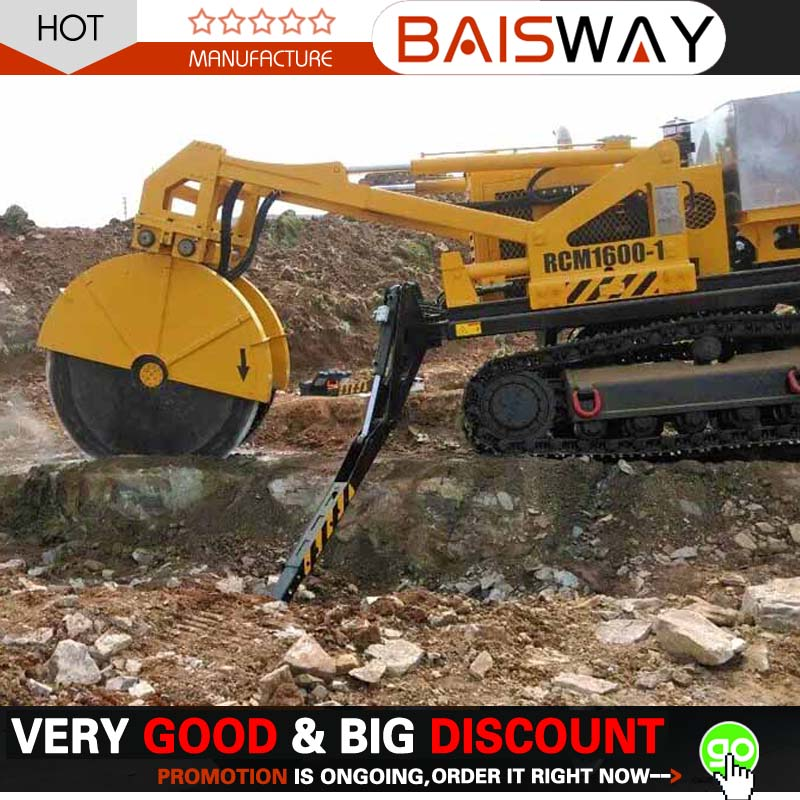 BAISWAY mobile rock cutting machine for sale