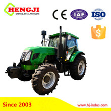 China cheap 4x4 wheels 75hp tractor price with CE certificate