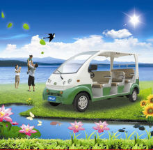 electric sightseeing cart eOne-S01 48V/4KW EEC homologated electric passenger car,7 seats
