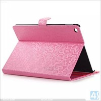 For Apple ipad air 2 PU leather case table covers diamond line