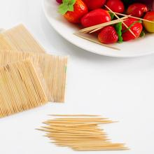 biodegradable wooden decorative party toothpicks