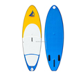drop stitch fabric inflatable sup windsurf board with sup deck pad