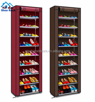 Modern Free Standing clear plastic shoe rack/ stackable plastic shoe rack/ folding shoe rack