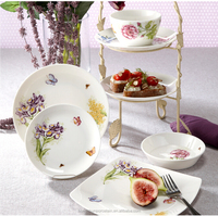 crockery dinner set,new design 18pcs porcelainware set exported to Greece