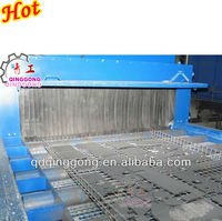 Continuous Conveyor Belt Polishing Machine For Round welded steel structurer