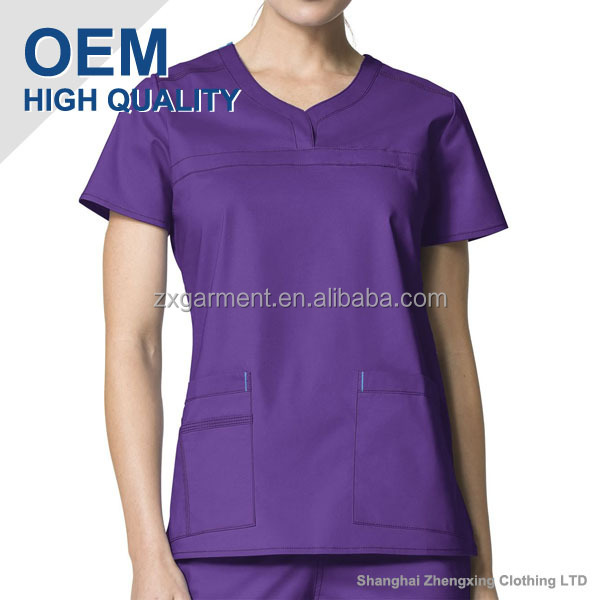 Fashion Nurse Scrub Suit Design Made in China