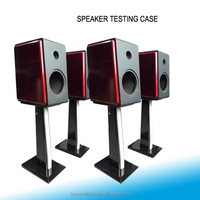 Wine Red high end Wooden case for speaker testing