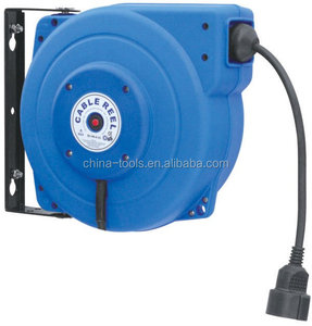 automatic retractable electric cable reel cord reel
