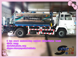 2014 New arrival 6m asphalt distributor trucks for sale