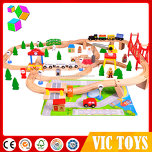 Cheap Price wooden toy train/wooden block crafts baby with high quality