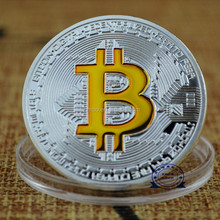 """BitCoin"", 16 Years Manufacture Experience Custom Blank Metal Modern Coin For Souvenir"
