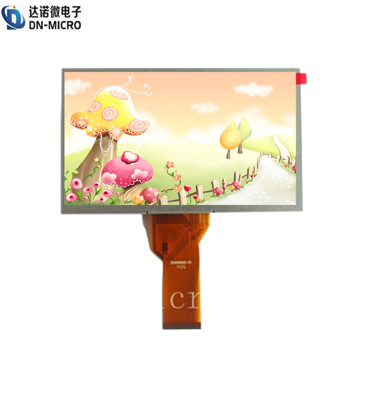 "7"" 800x600 resolution TFT screen mipi dsi interfac lcd display with polar film"