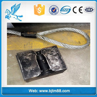 Carton/Pallet packing Rolled steel wire rope sling/lifting sling