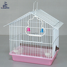 High Quality Hanging Small Iron Wire Metal Bird Cage