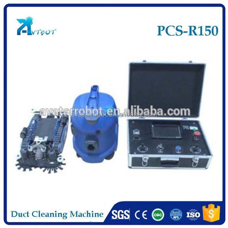 150-600mm robotic air conditioning duct cleaning equipment for sale