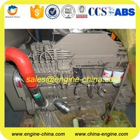 Import Cummins 4bt 6bt 6ct 6ltaa nta855 kta19 kta38 kta50 marine main engine power from 30kw~2000kw