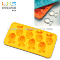Free sample available 100% food grade Fish shaped new ice mold