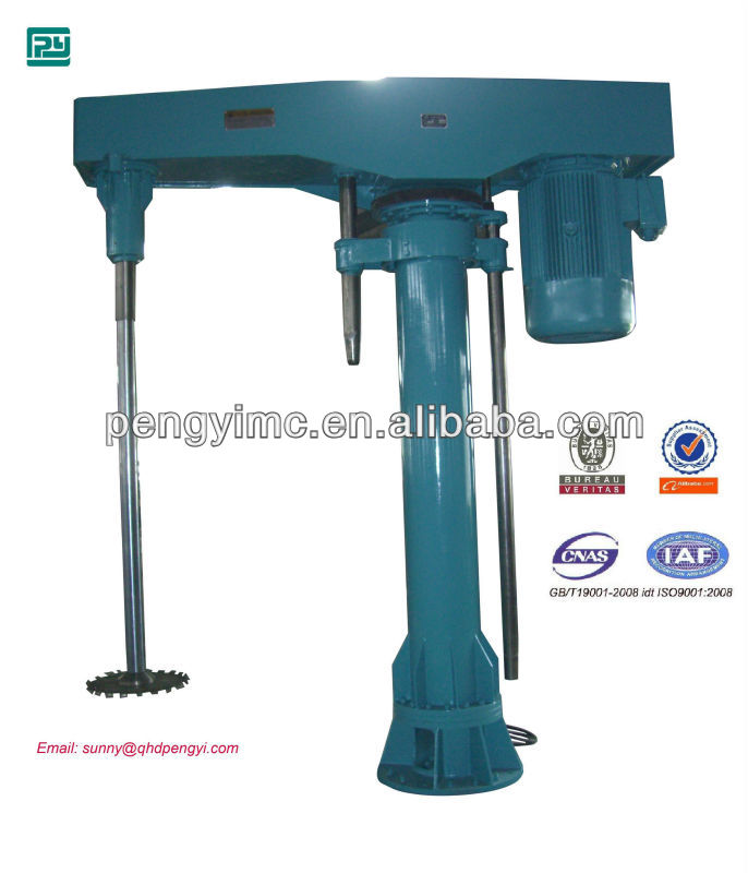 coating mixing agitator / high speed control type