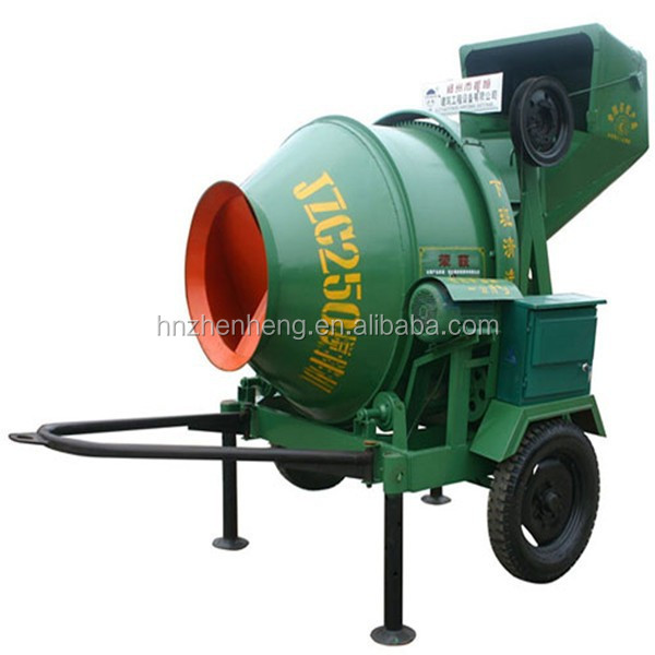 JZC250 tractor mounted cement mixers