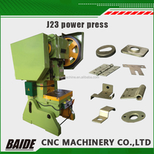 J23 electric plate punch press