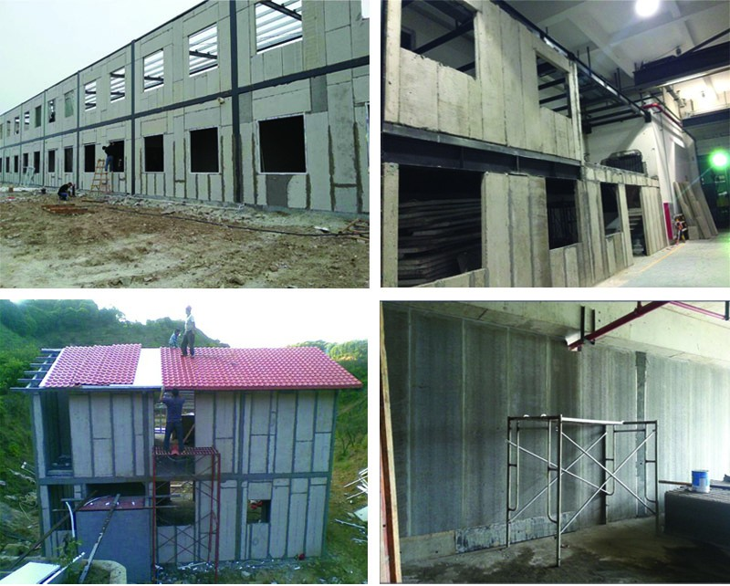 Precast Concrete light Weight interior Wall Panel for manufactured home wall panels extrudering machine