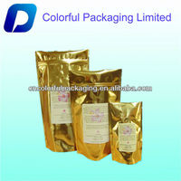 Roated coffee bean packaging bag/custom coffee printed bags
