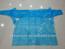 LDPE/HDPE Medical Disposable Plastic Smock