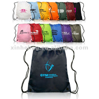 cheap 190T polyester drawstring bag