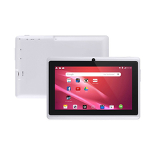 7 inch A33 quad core android tablet with leather case