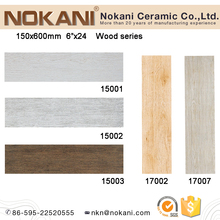 150x600mm wood grain porcelain tile wooden floor tiles indoor wall tiles
