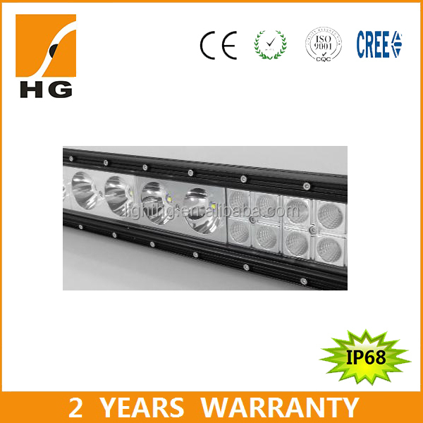 Hotsale! 112W 20inch Black Hybird Series Curved LED Driving Light Bar for Car, ATV, Jeep (HG-8717C-112)