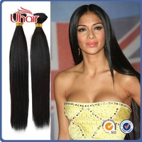 New Style Sliky Straight 18 inch Natural Color Human Hair Wholesale Price Cuticle Remy 100% Peruvian Human Hair 3 pcs/lot