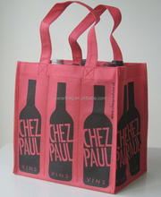 Promote Green Ideas 6 Bottle Packing Reusable Wine Bags