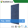 China best pv supplier Bluesun poly 300w solar panel price per watt