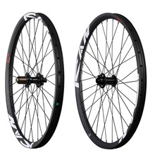 All mountain carbon wheels 650B mtb carbon wheelset 35mm clincher wheels tubeless ready hookless mtb wheels AM275-TL