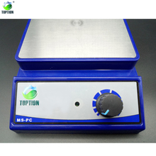 TOPTION Laboratory 3L Plate Magnetic Stirrer Mixer With Stir Bar MS-PC