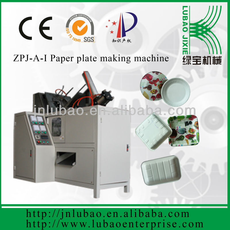 automatic paper flower plate machine to make paper plates in shan dong