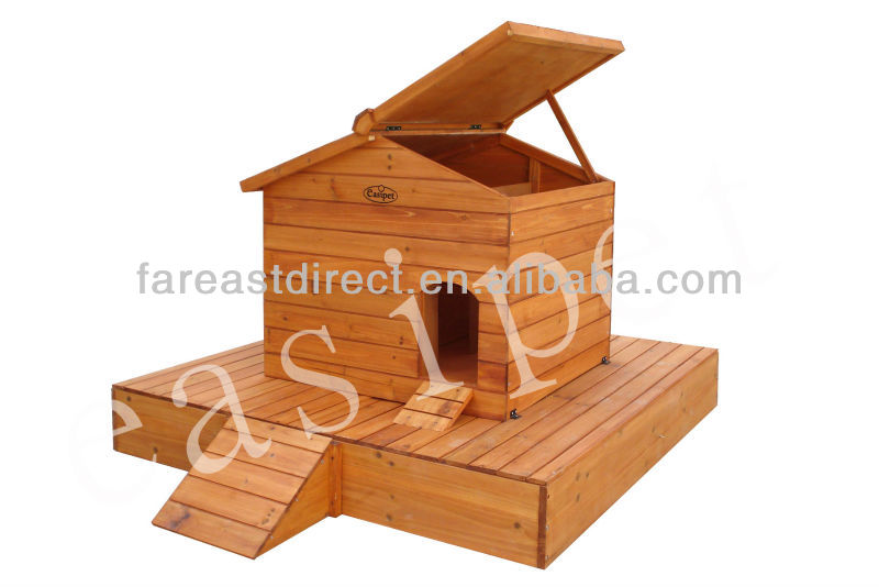 Large Wooden Duck House Coop