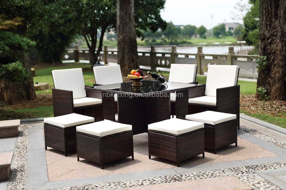 2016 Best Selling Leisure Garden Poly Rattan Furniture