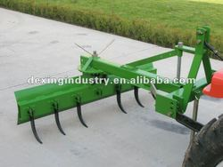 Hot selling rear grader blade with ripper for 20hp-100hp tractor