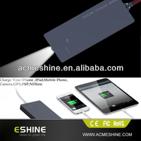 solar dynamo mobile phone charger with led light