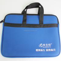 Neoprene laptop bag 17 inch ziplock laptop cases with handle