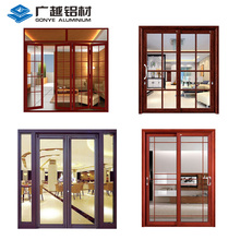 Customized aluminium profile sliding doors and windows designs price