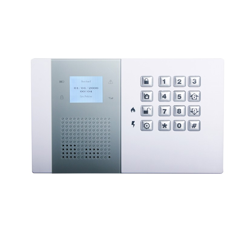 Professional GSM PSTN Home Security Alarm System Kit with door bell key pad