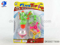 2013 New Product Wind Up Spin Top W/Light