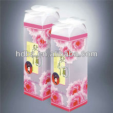 recyclable customized plastic packaging box for wedding gift